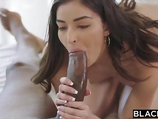 BLACKED Tutor College Girl Vengeance Pounds The brush Schoolteachers BIG BLACK Load of shit