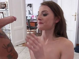 Katy Rose passes porn dramatis personae of Rocco Siffredi and John Price
